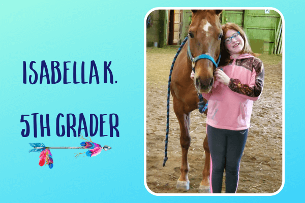 Featured Fit Kid – Isabella K.